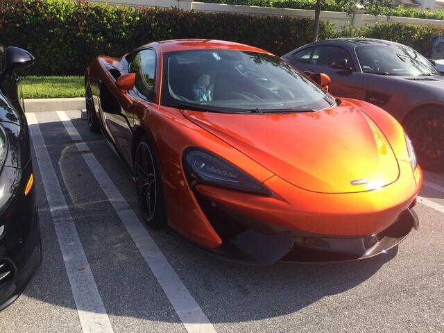 Super cars from this month's Cars & Coffee event in West Palm Beach