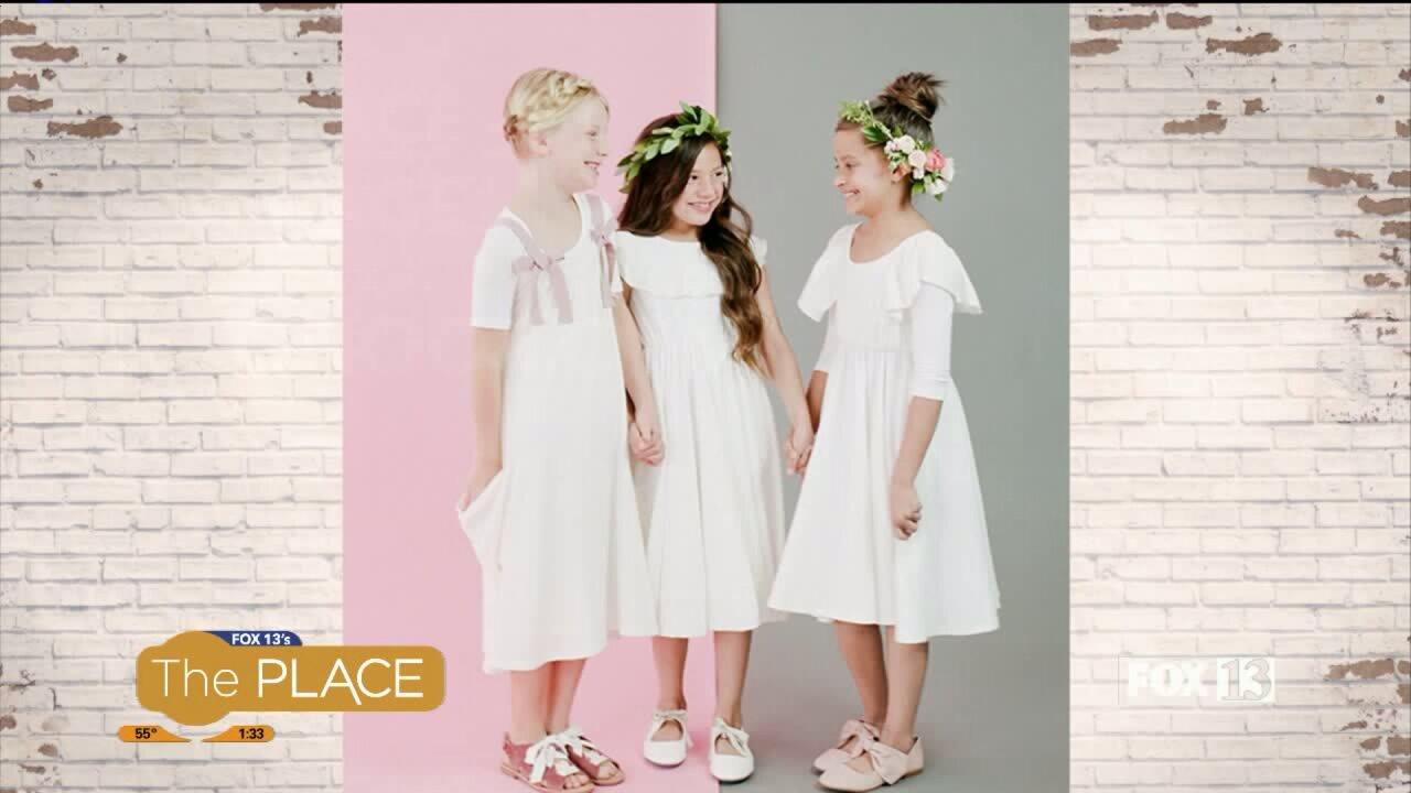 Special occasion dresses made for littlegirls