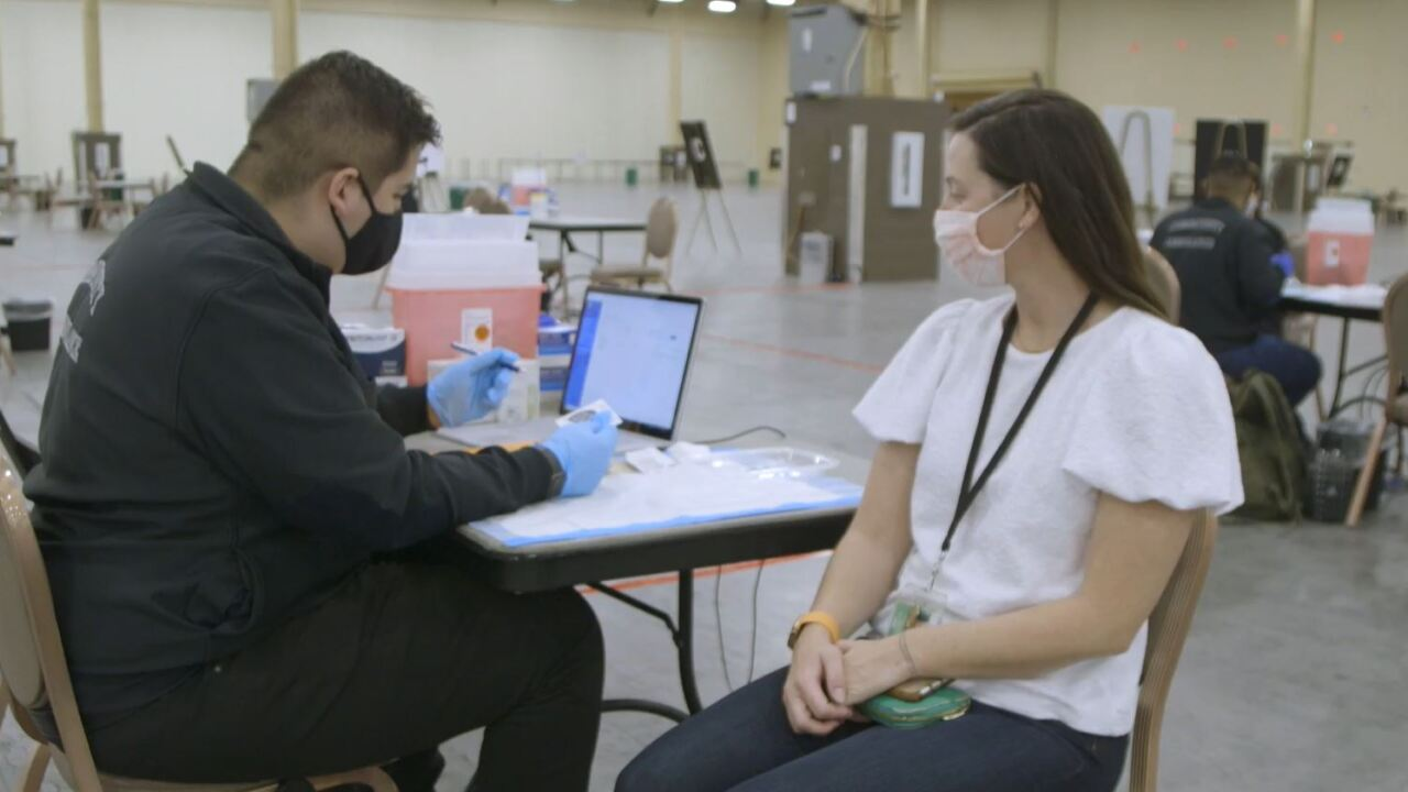 MGM Resorts International has partnered with Community Ambulance to establish a vaccine clinic for employees and their families inside Mandalay Bay.