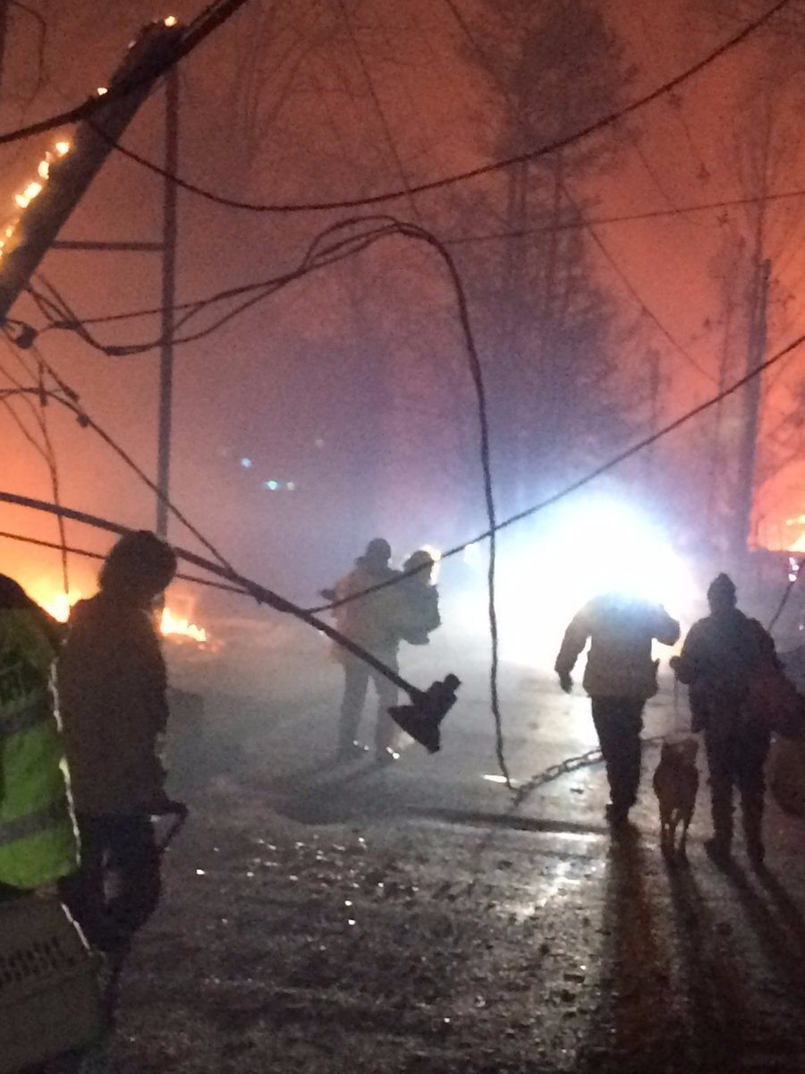 Photos: 3 more bodies recovered after Tennessee fires, death toll up to 7