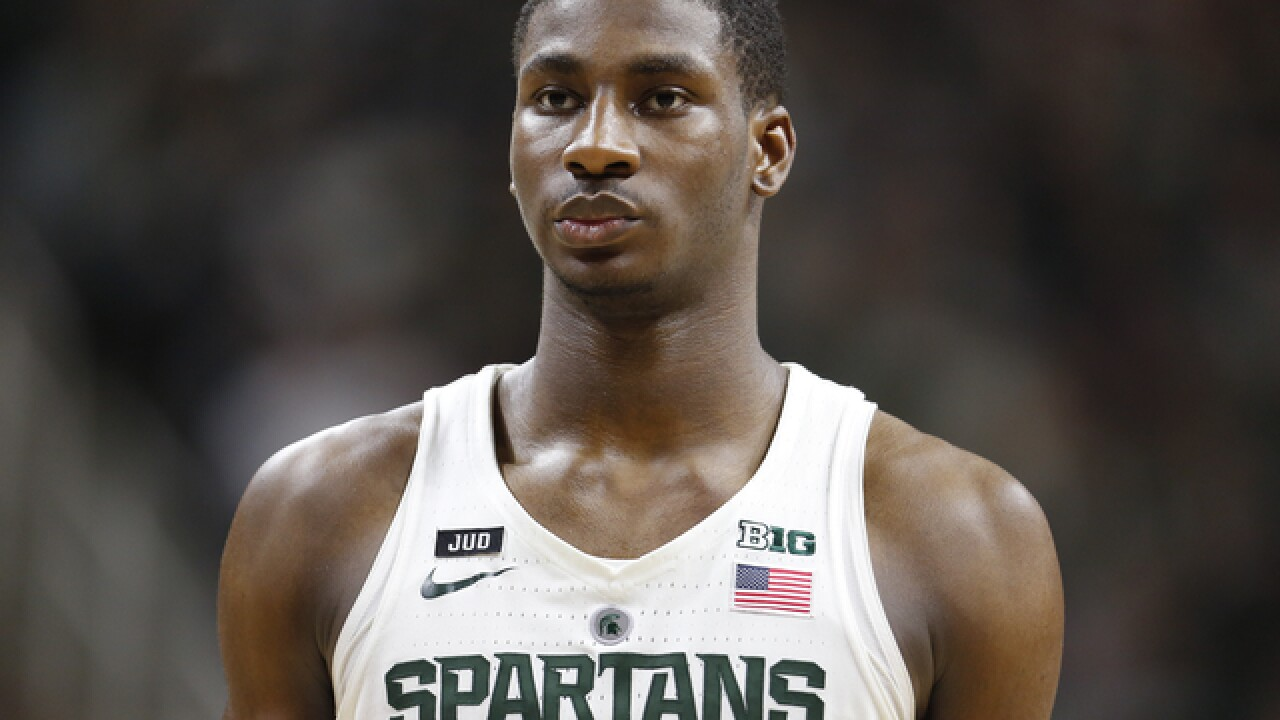 Michigan State freshman Jaren Jackson jumps to NBA draft