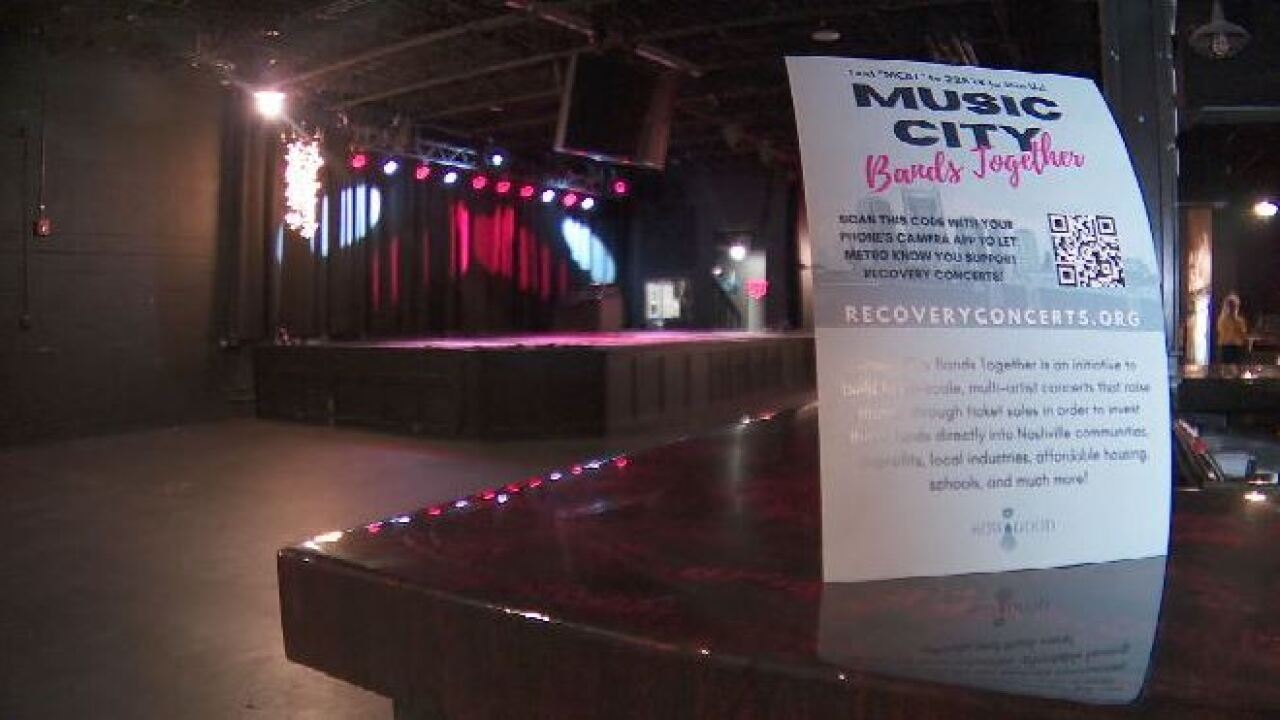 Music City Bands Together Recovery Concert