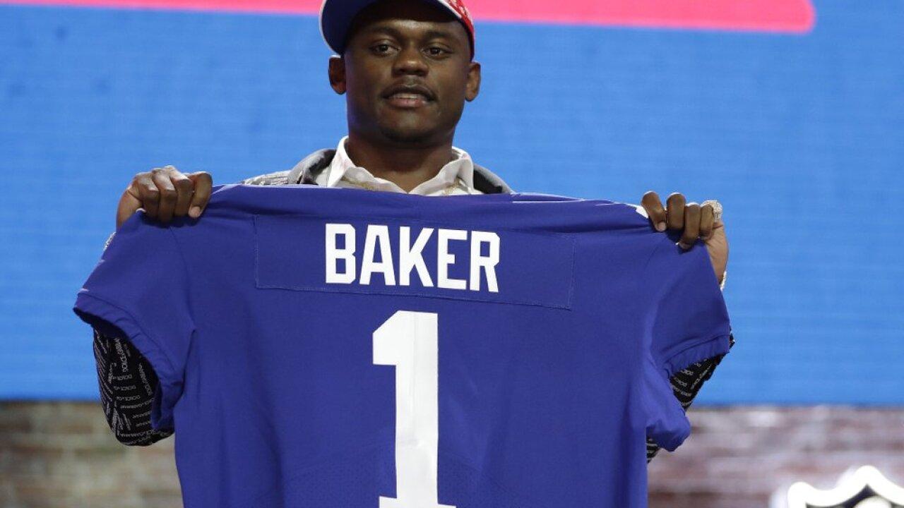 Georgia defensive back DeAndre Baker