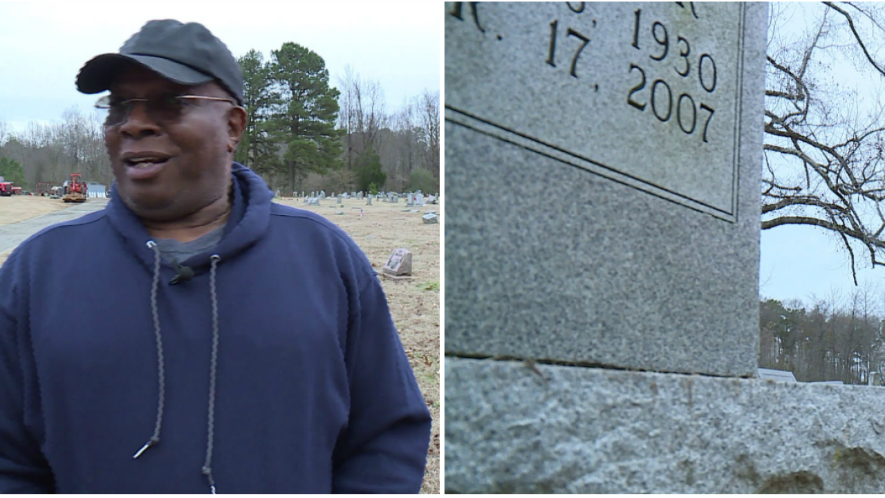 After months of turmoil and a CBS 6 investigation, cemetery locates where woman's body isburied