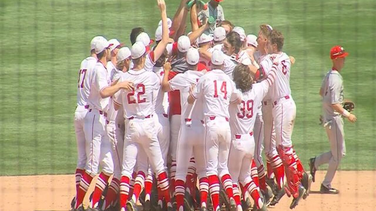 Huskers win first conference baseball title in 12 years