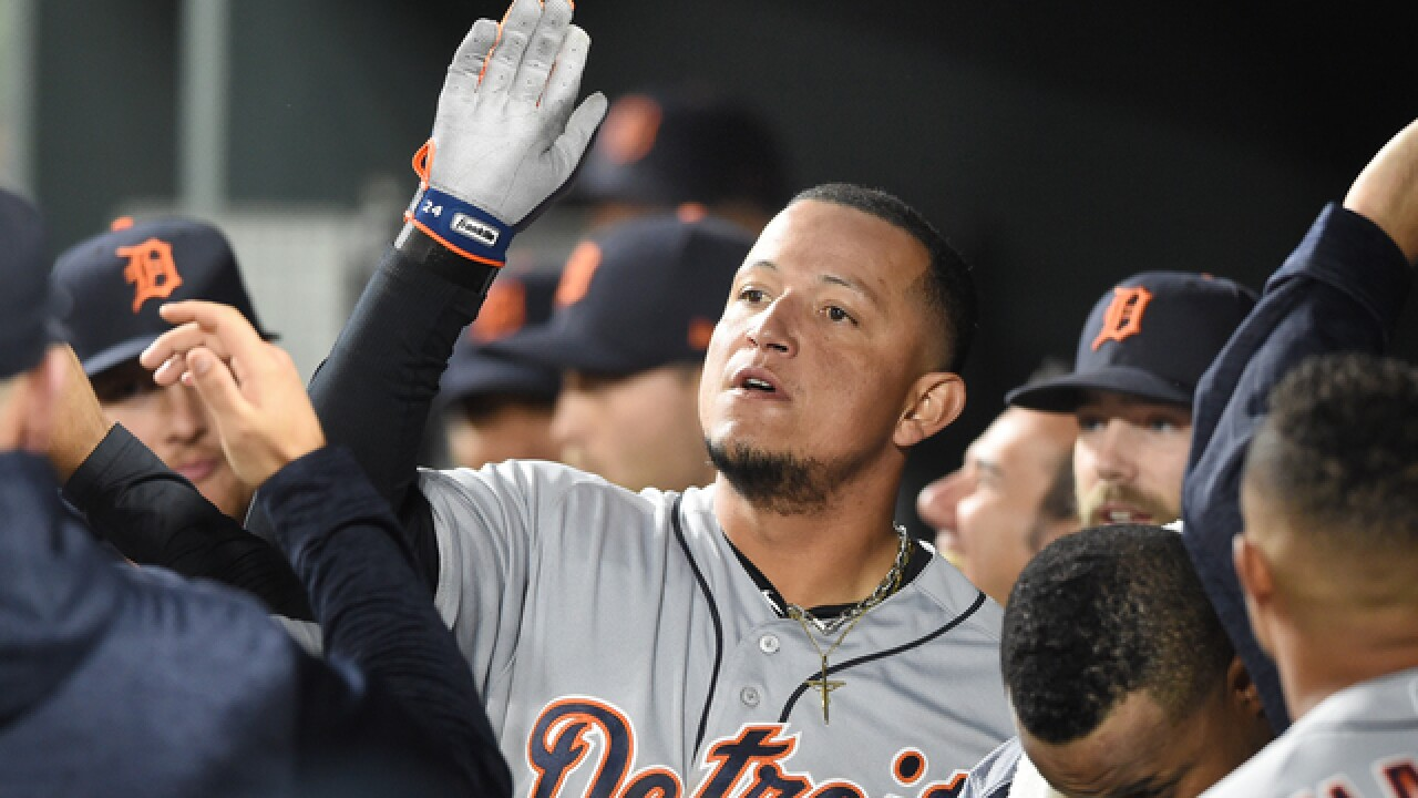 Miguel Cabrera leads Tigers past Orioles