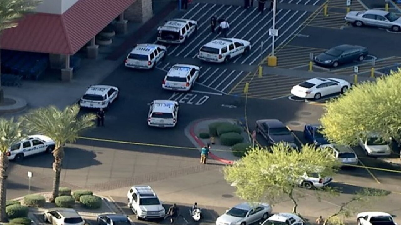 Two officers ambushed at Arizona Walmart
