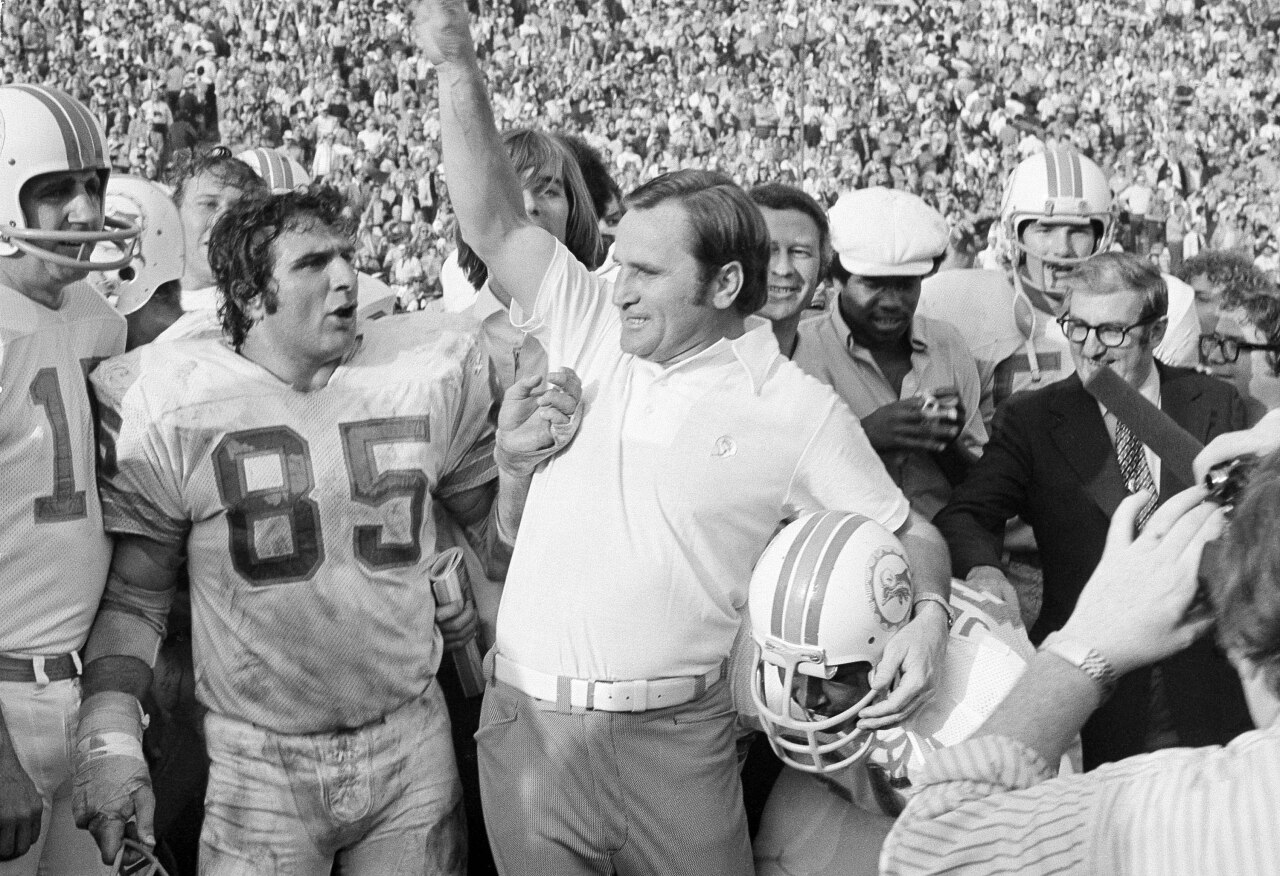 Don Shula Dolphins Super Bowl