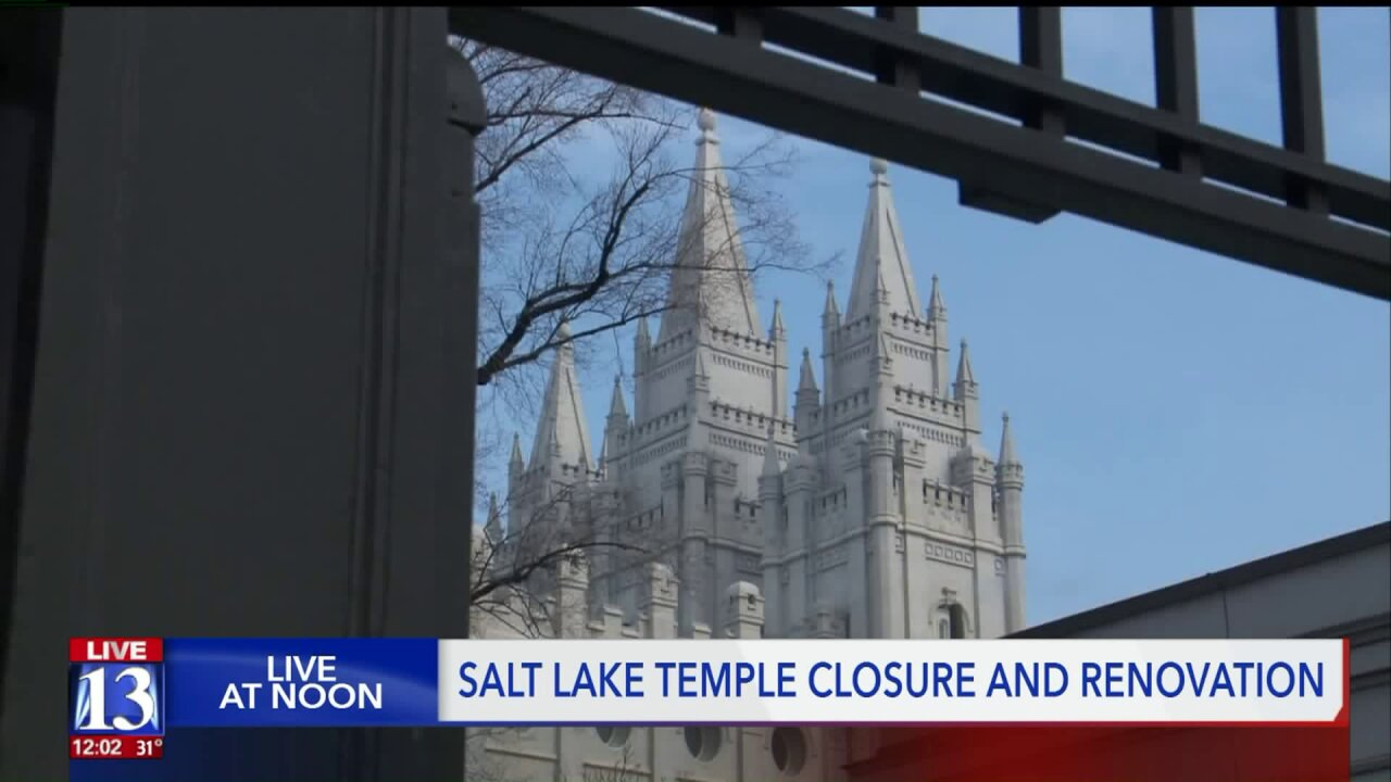 Salt Lake Temple closure aims to maintain history and upgrade safety