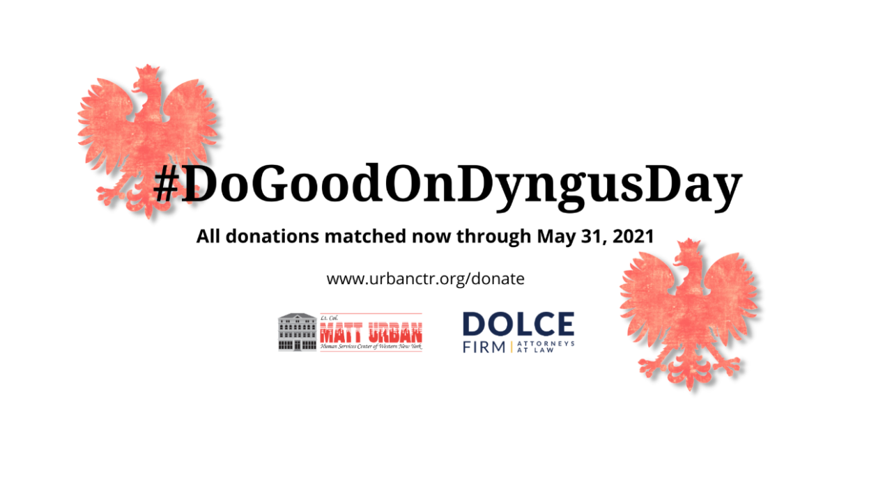 The #DoGoodOnDyngusDay aims to rally the City of Good Neighbors to support their community during the Easter Season