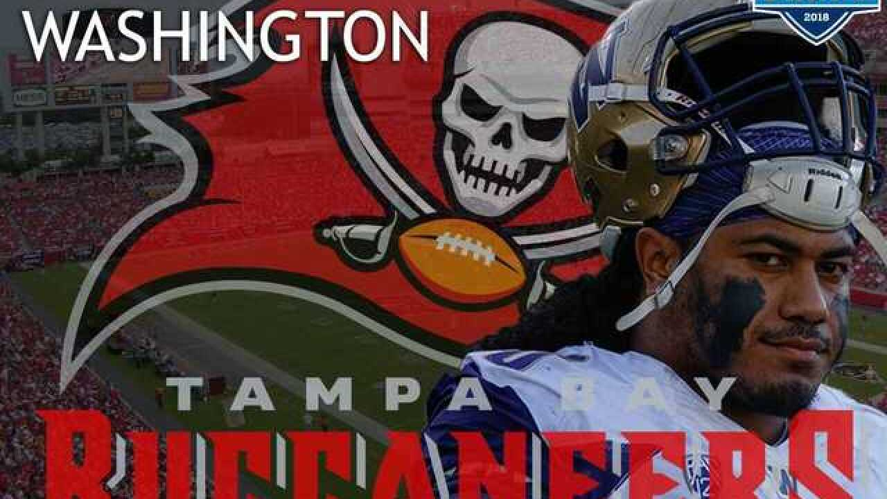 Bucs draft DT Vita Vea of Washington after trading down in 1st round of 2018 NFL Draft