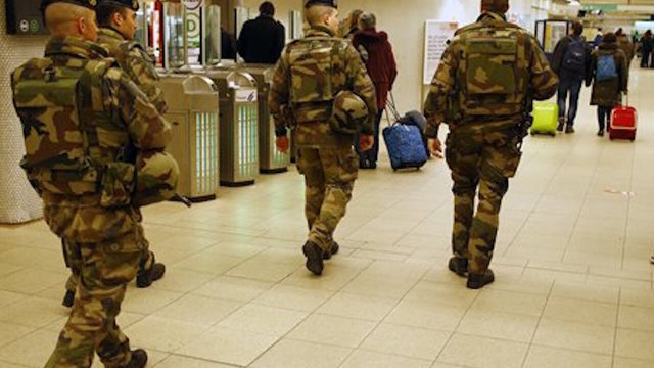 Explosions rock Brussels airport, subway