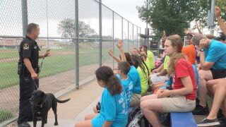 Police, kids become friends during summer camp