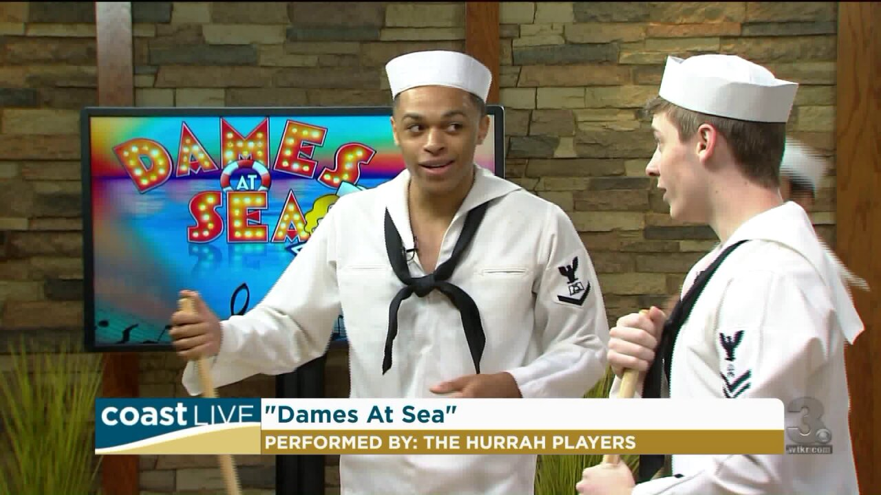 "A song and dance preview of ""Dames at Sea"" with the Hurrah Players on Coast Live"