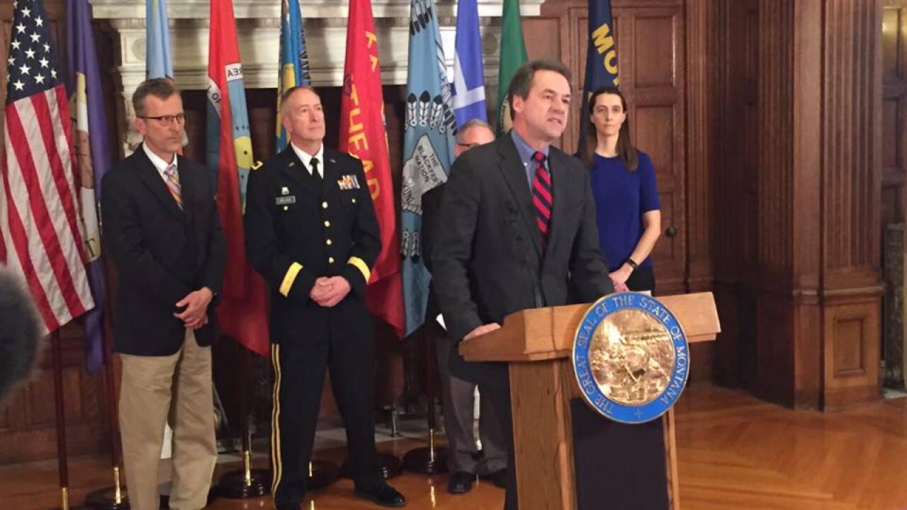 Gov. Bullock activates coronavirus task force to bolster MT preparations