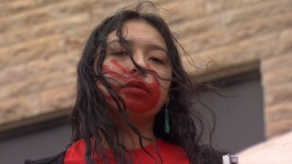 Marchers in Hardin demand answers about missing and murdered indigenous women