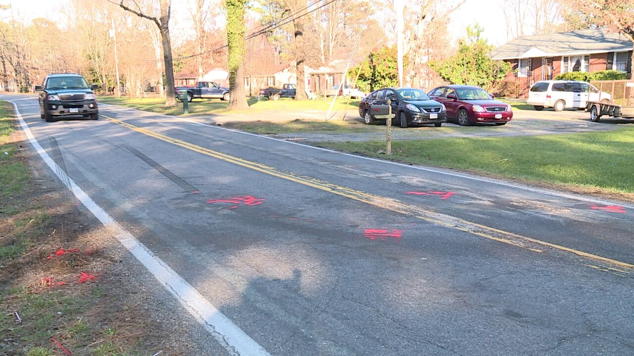 Woman killed in head-on crash inChesterfield