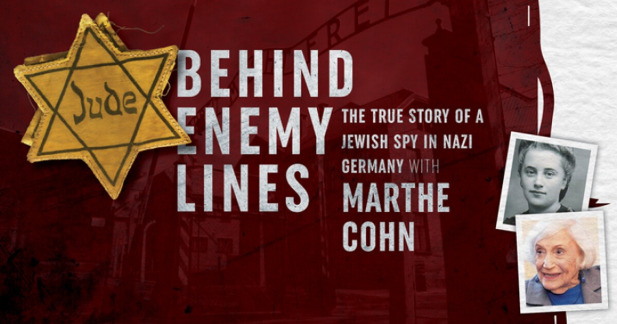 Undercover Jewish spy in Nazi Germany during World War II coming to Cleveland