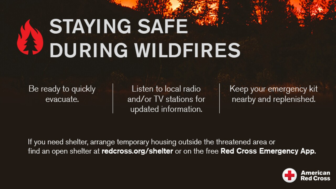 staying safe wildfires August 18, 2021