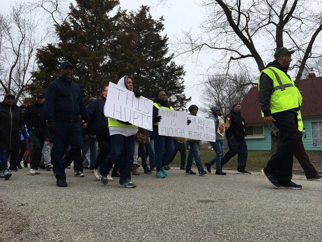 PHOTOS: Enough is Enough march for 1-year-old killed