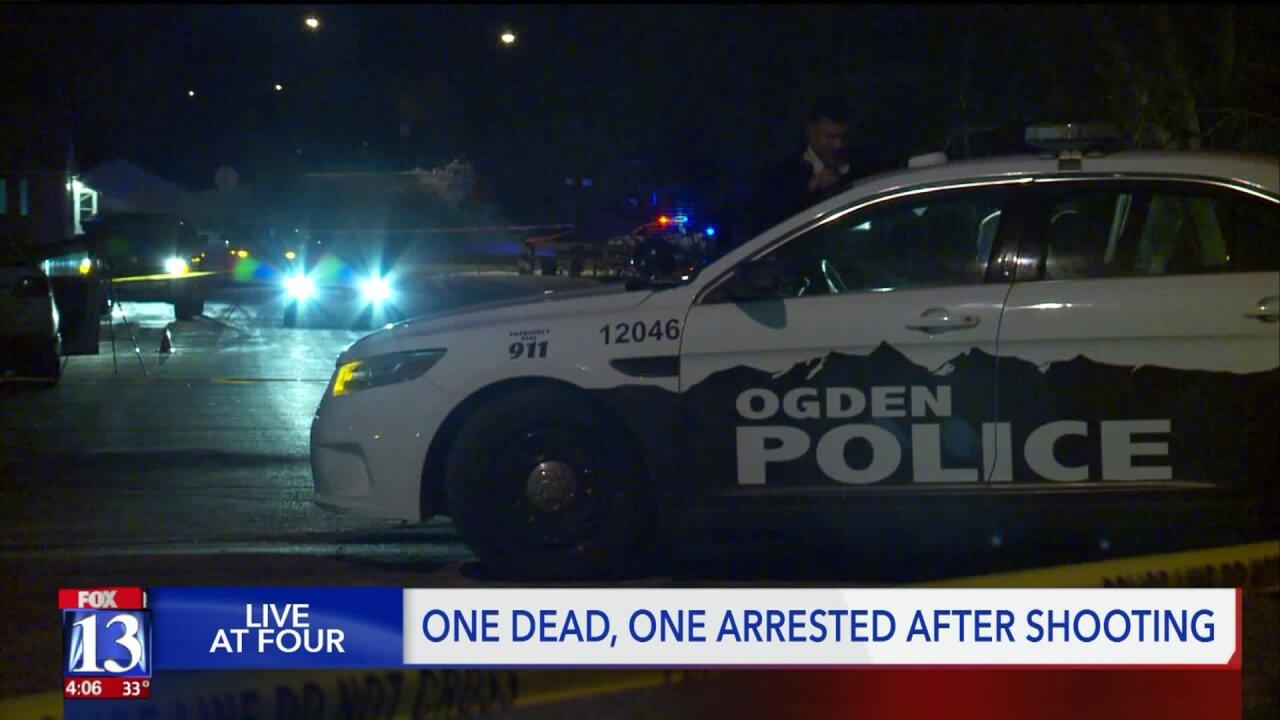 Victim injured in Ogden shooting has died; murder investigation underway