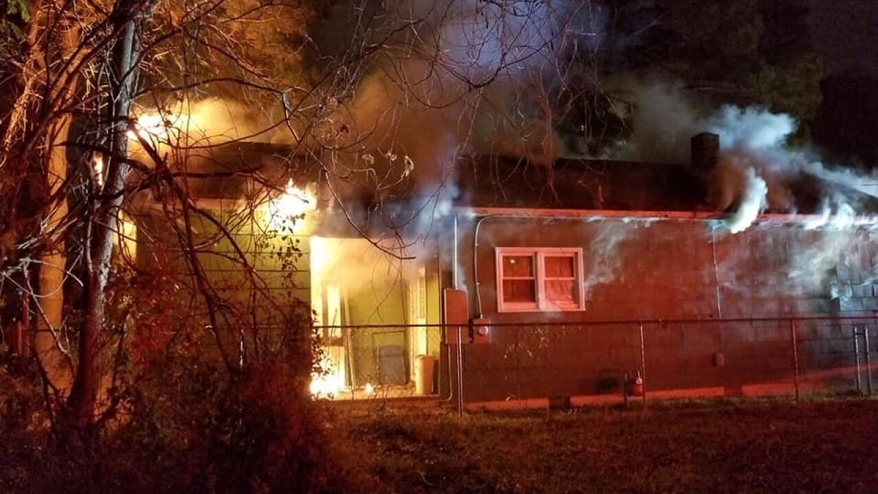House under renovation catches fire in Portsmouth