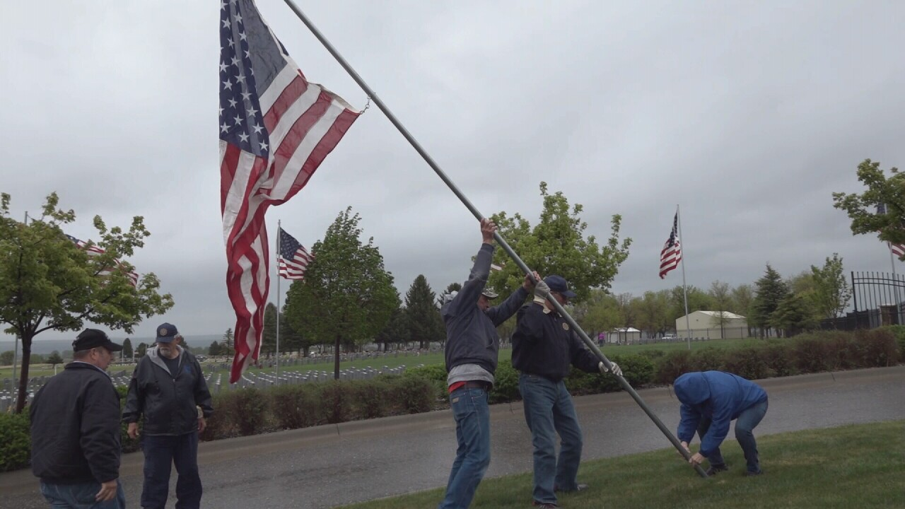 Yellowstone National Cemetery changes Memorial Day ceremony