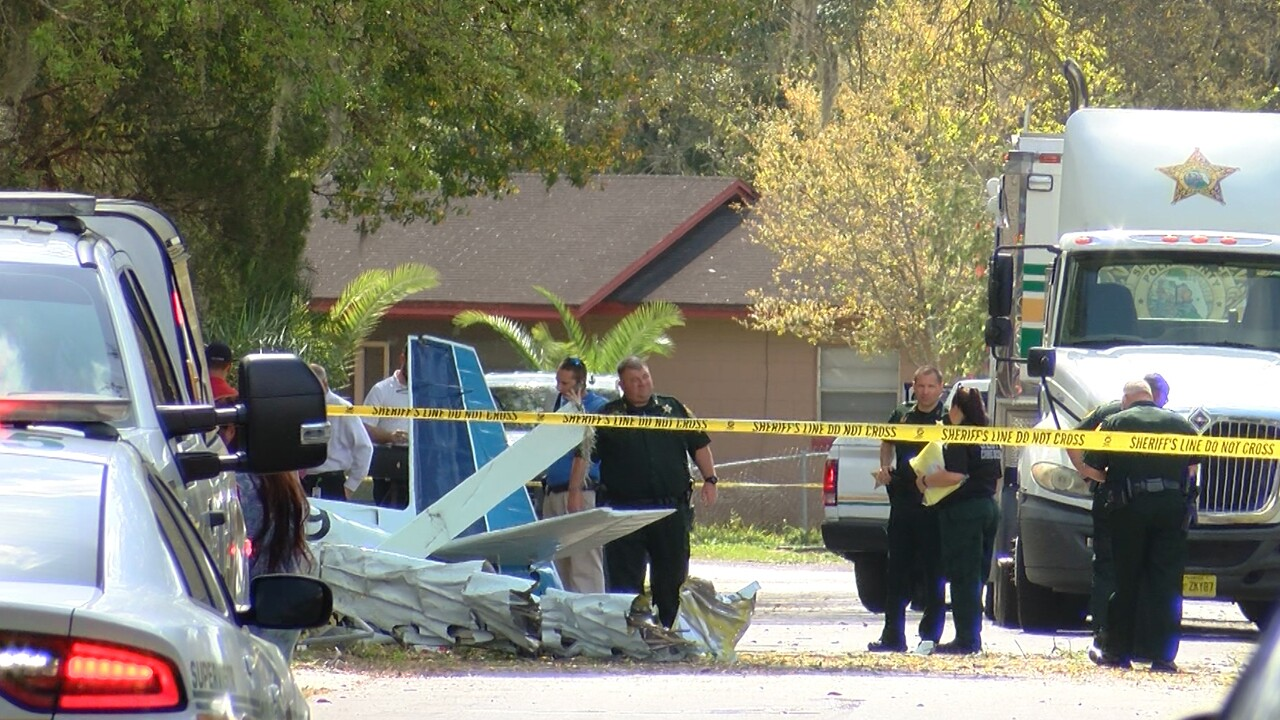 Polk County Fire Rescue says two people were killed when a plane crashed in Bartow on Thursday.