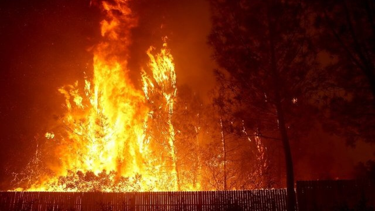Local church collecting items for wildfire victims