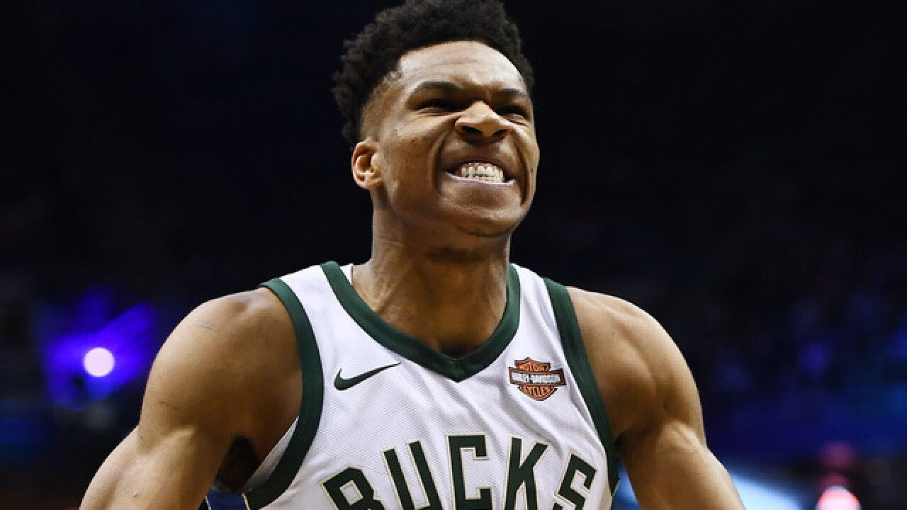 Giannis Antetokounmpo gets a triple-double as Bucks rout Kings