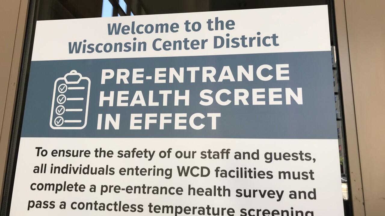 WCD health Screen in effect