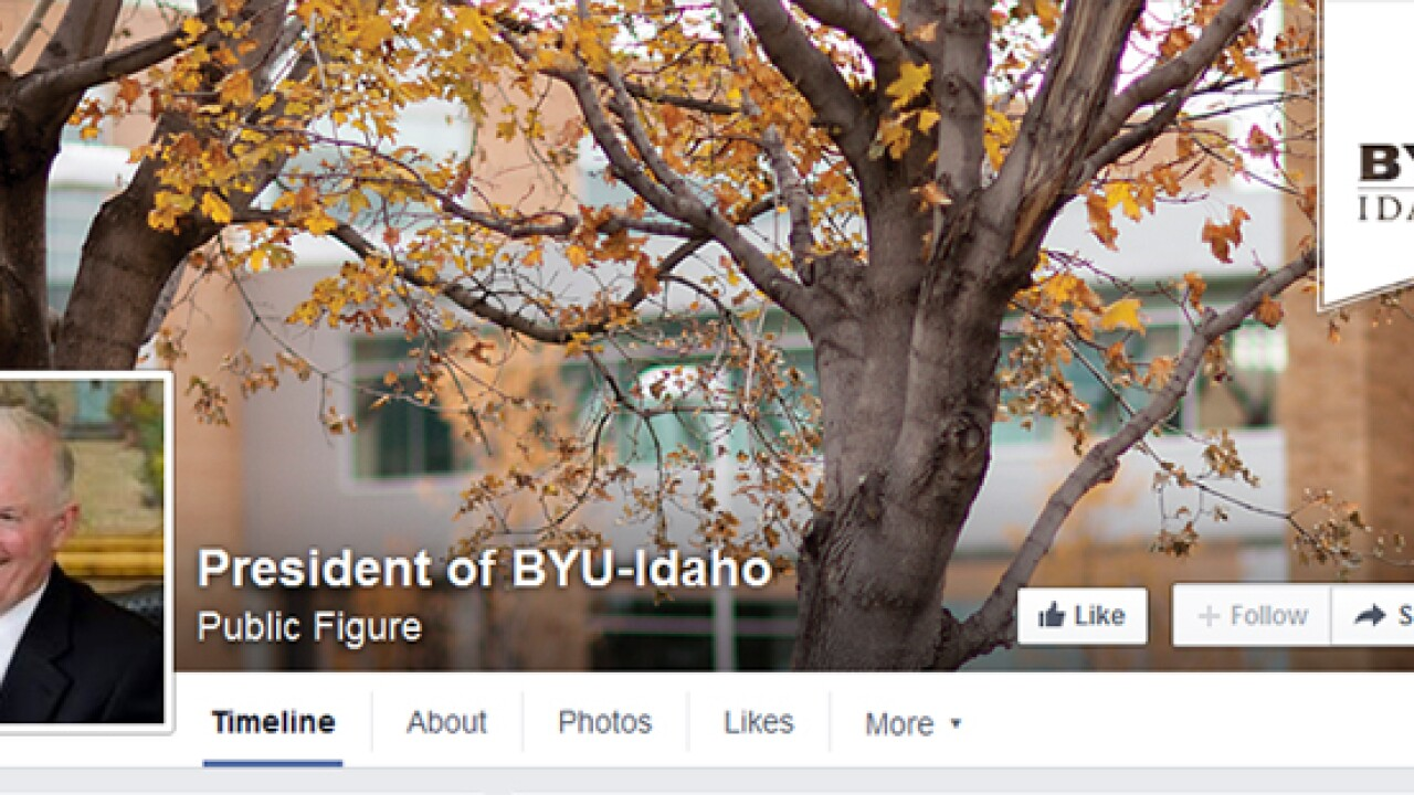 BYU-Idaho President gets criticism, support after posting dress code reminder