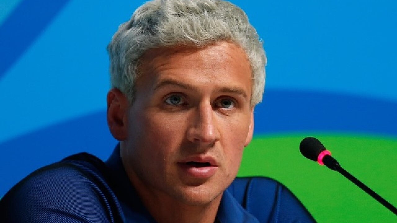 U.S. Olympic Committee acknowledges Ryan Lochte was robbed in Rio