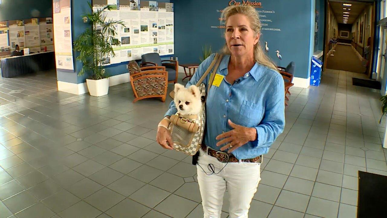 Becky Harris, Martin County resident who says dog hurt after ingesting algae