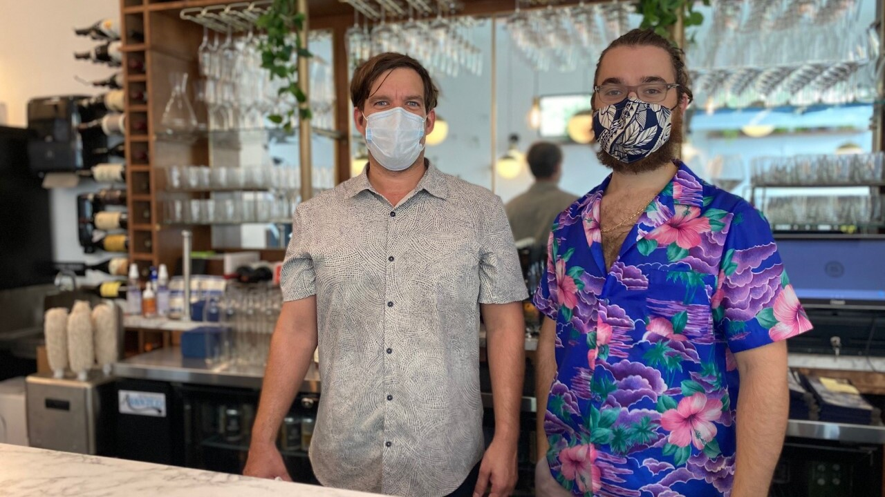 Humming Bar Wine Cafe opens during the pandemic