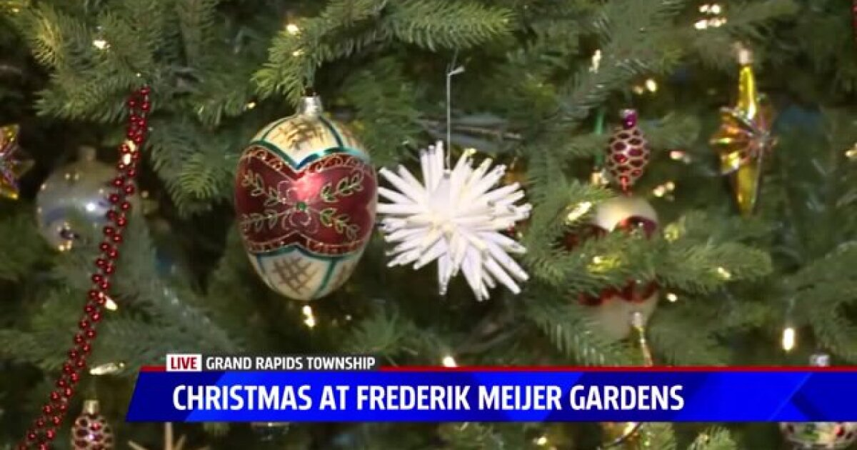 Take A Peek At Christmas Around The World At Meijer Gardens