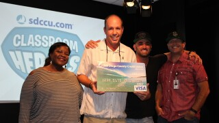 SDCCU Classroom Heroes: James Holmes of High Tech Middle School in Chula Vista