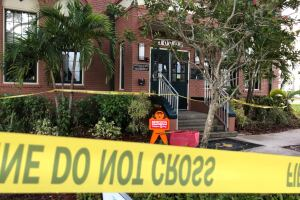 Roof collapse at Bonita Springs Elementary