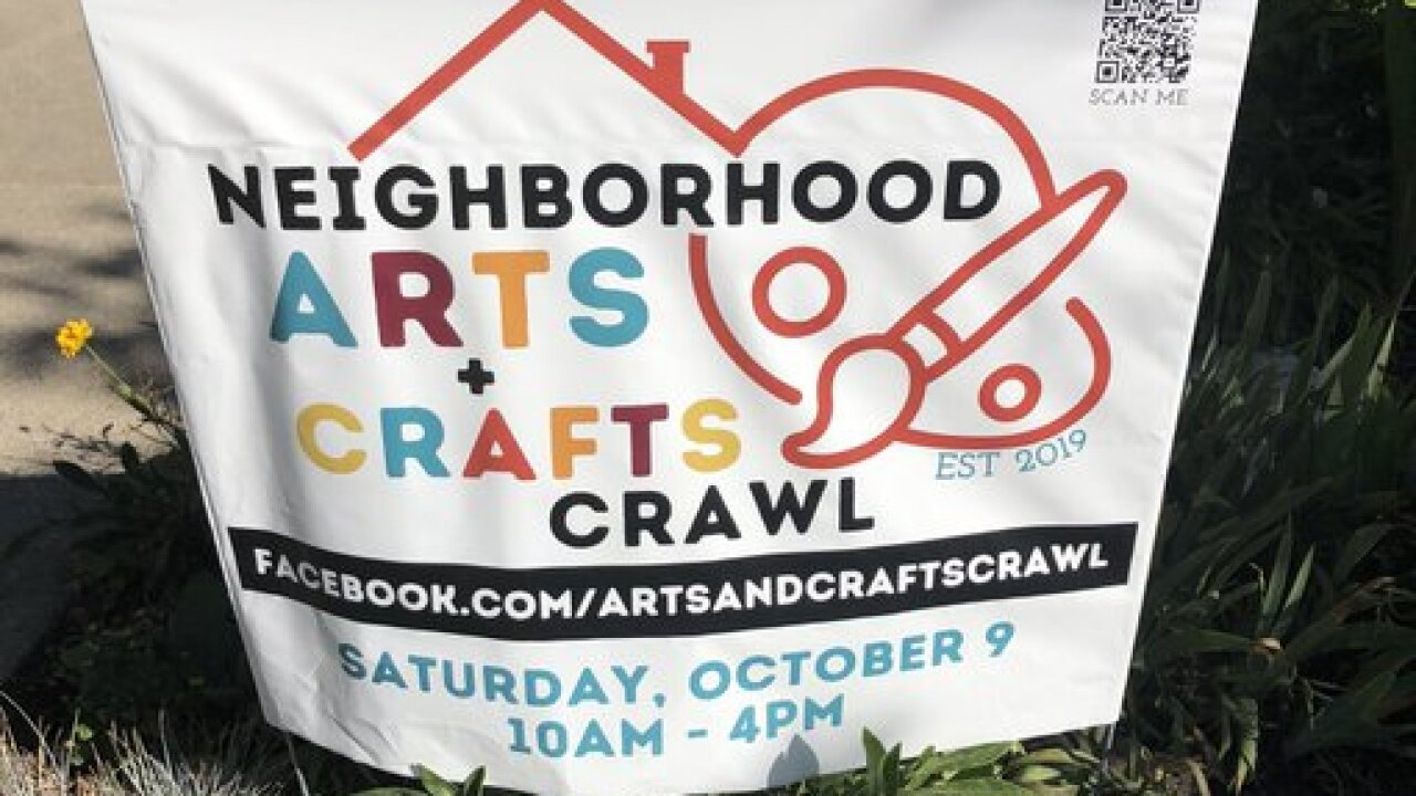 Local artists to host 2nd annual Neighborhood Arts and Crafts Crawl this weekend