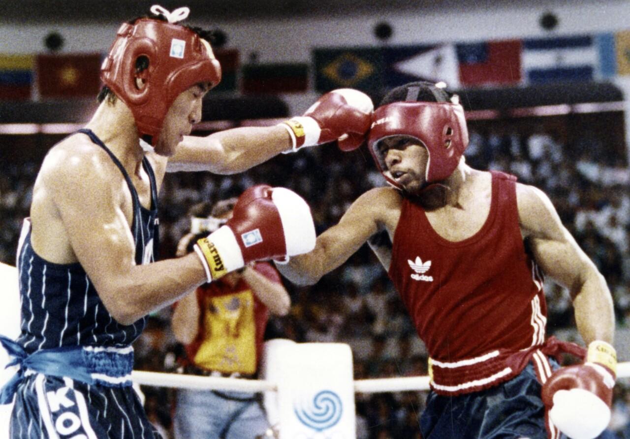 Olympics 1988 Seoul Games Park vs Jones
