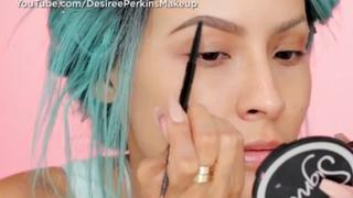 Mind-blowing melting skull makeup tutorial