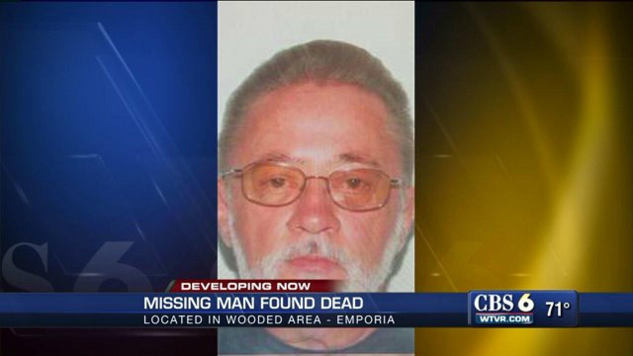 Emporia man suffering from Alzheimer's founddead