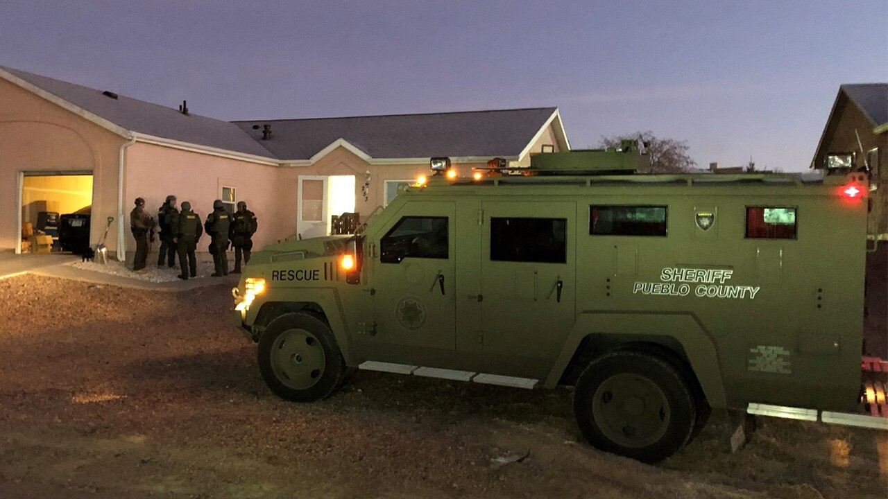Pueblo West barricaded suspect