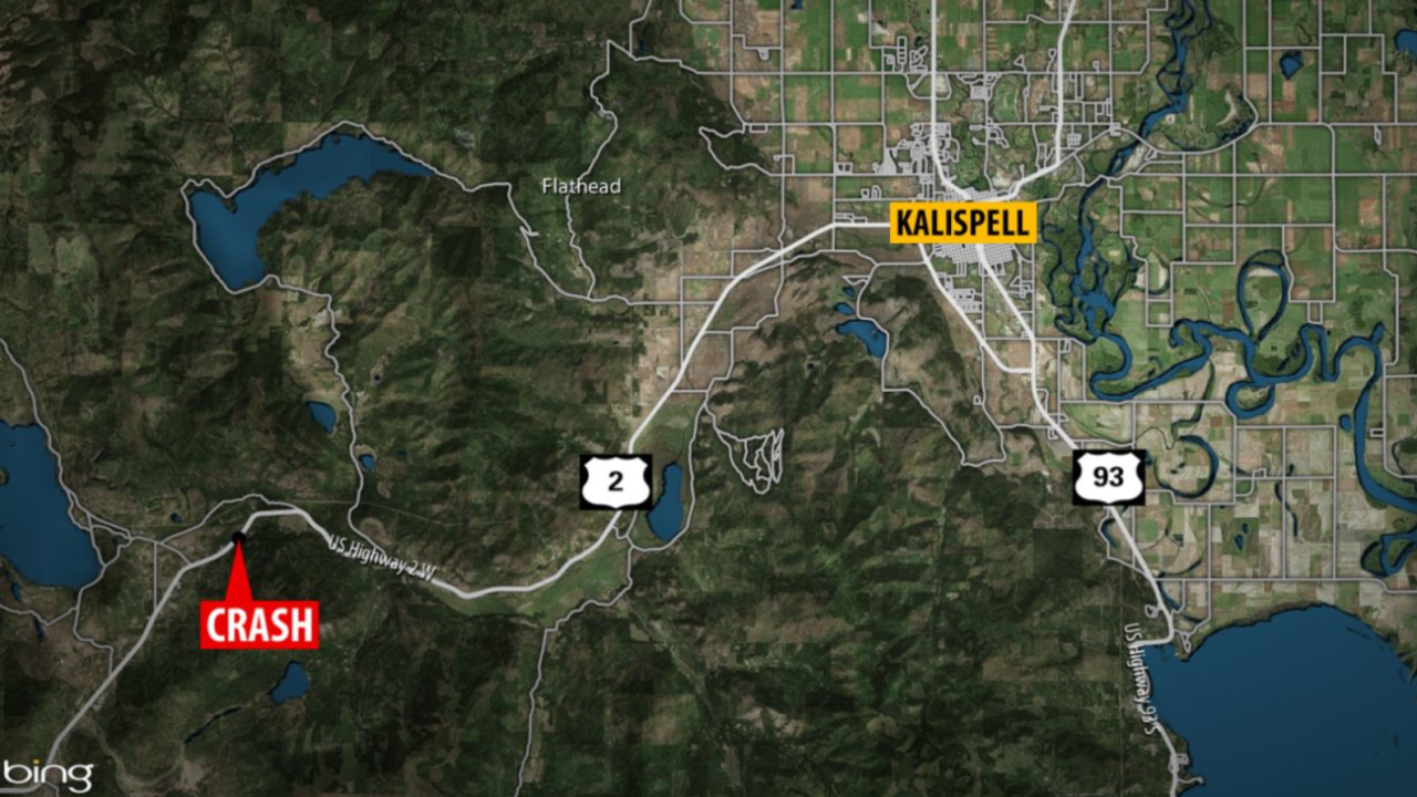 Fatal crash in Flathead County