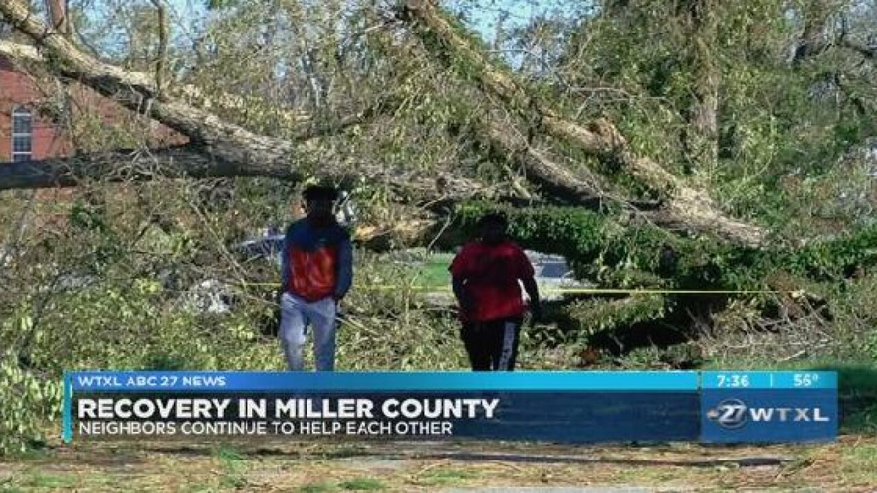 Neighbors continue to help each other in Miller County
