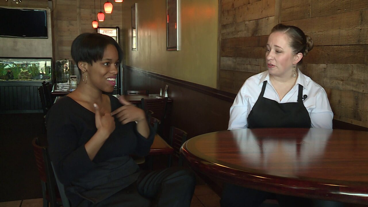 Deaf waitress breaking down communication barriers at Chesterfield restaurant