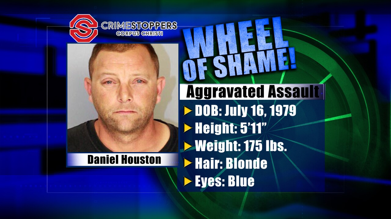 Wheel Of Shame Fugitive: Daniel Houston