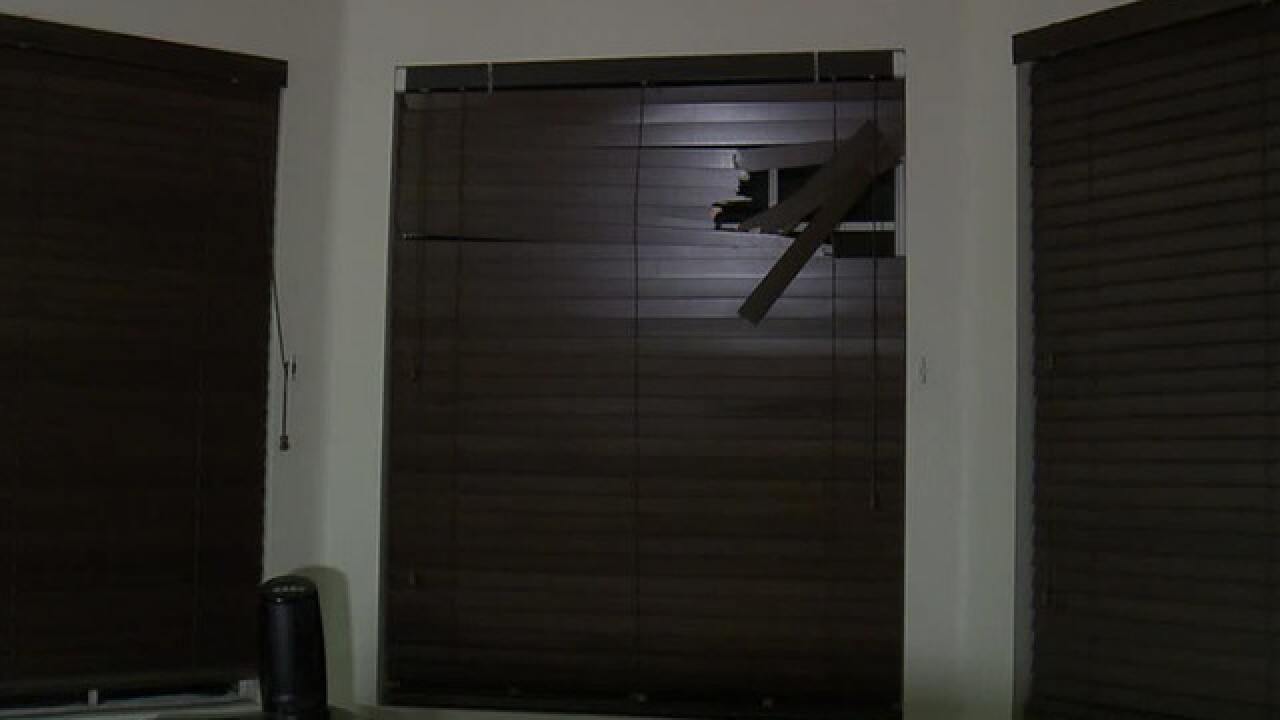 Man attacked after interrupting home burglary