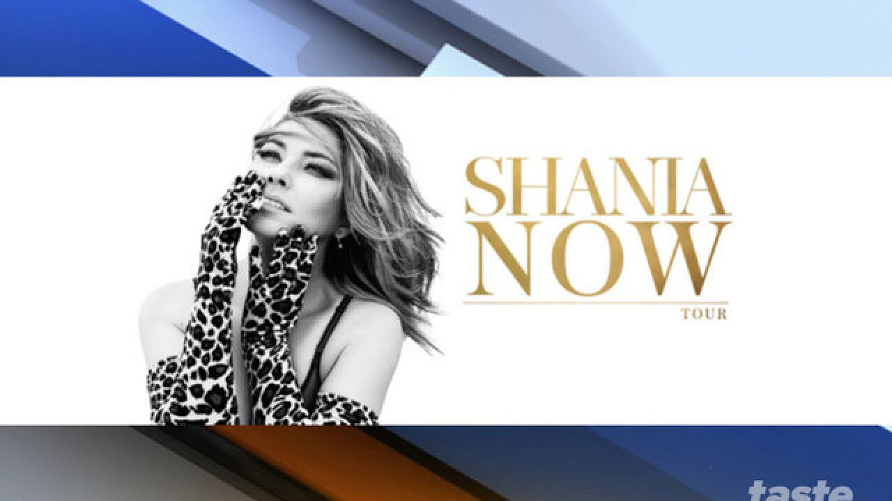 Shania Twain coming to the BB&T Center in Sunrise