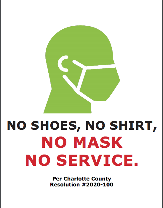 Business Mask Sign